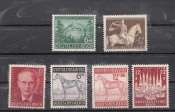Lote Mint Sellos Alemania Tercer Reich