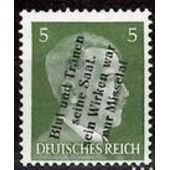 ALEMANIA CORREO LOCAL MÜHLBERG 1945 MICHEL 4